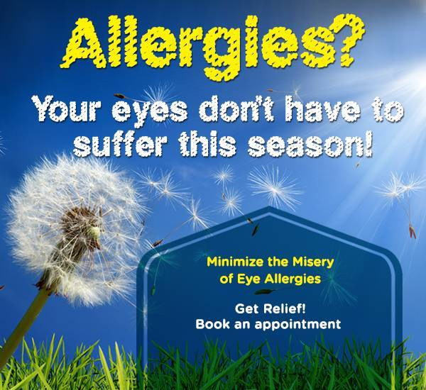 Make an appointment to let us relieve your allergy symptoms.